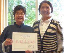 TAIJIWUXIGONG_remise diplôme par SHEN Jin
